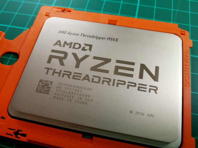 AMD Ryzen Threadripper 1950X and 1920X: We're Allowed To Show Pictures Now