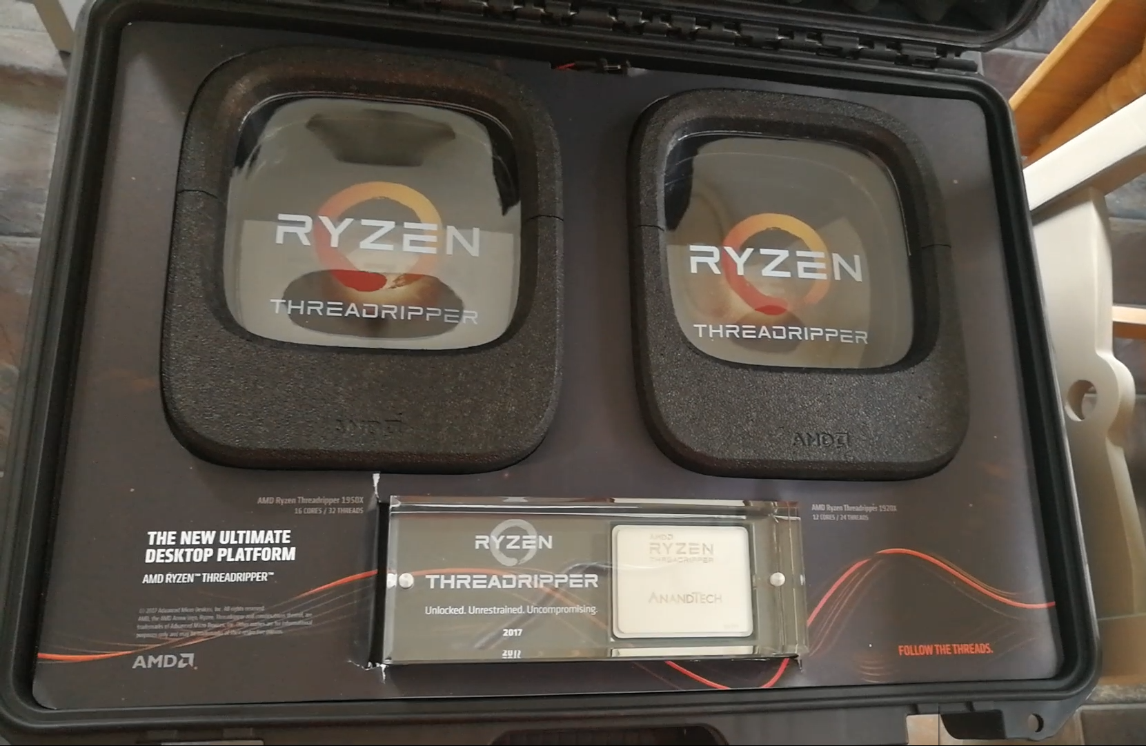 AMD Ryzen Threadripper 1950X and 1920X: We're Allowed To