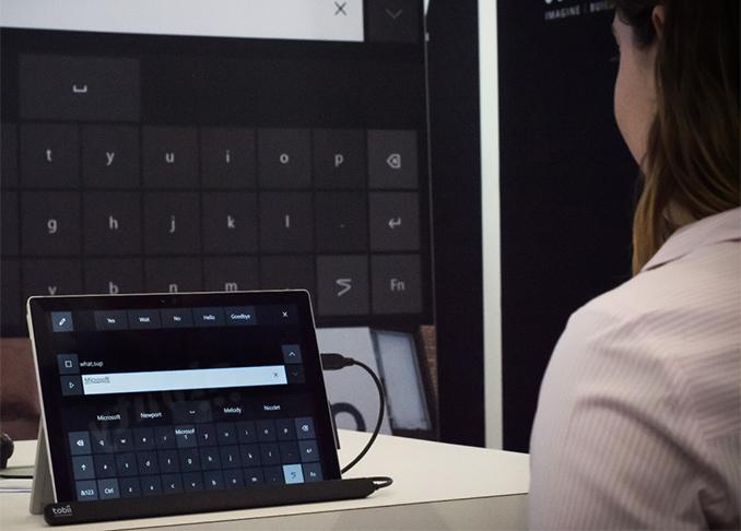 Microsoft to Enable Eye Control in Windows 10