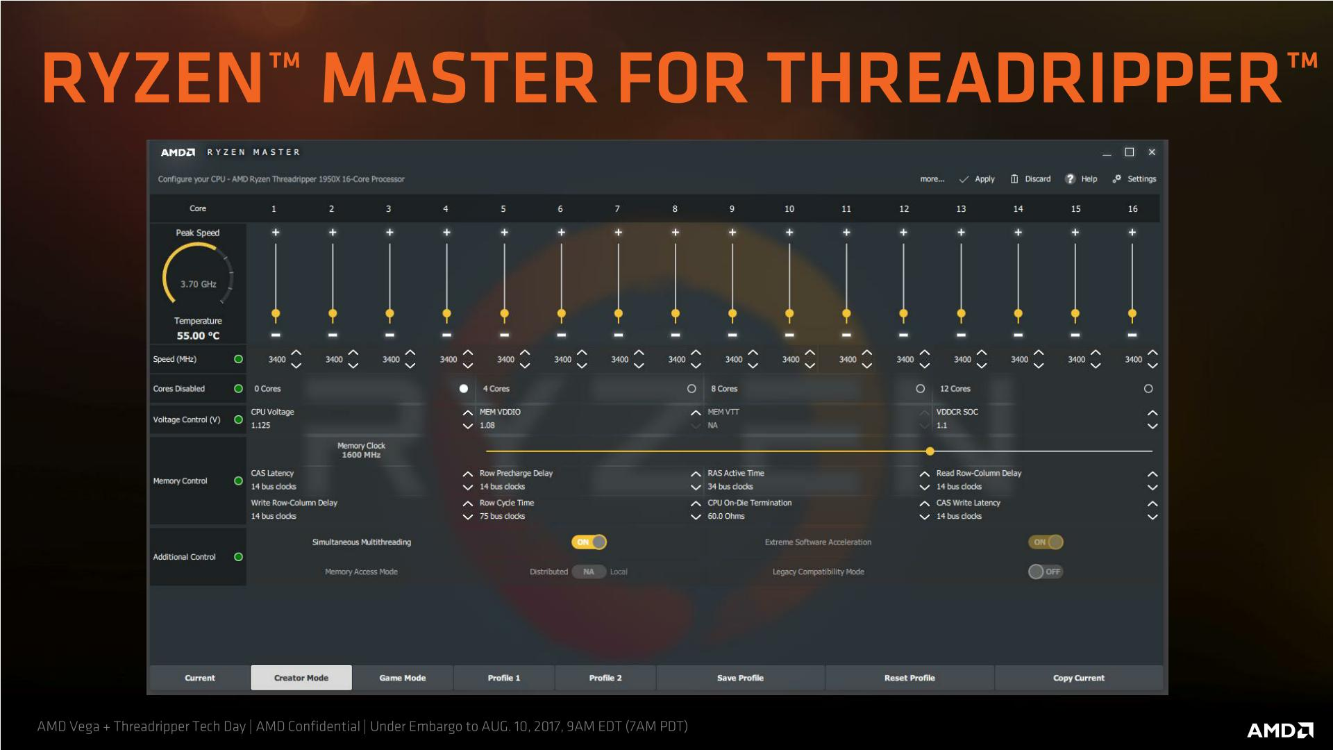 Retesting AMD Ryzen Threadripper's Game Mode: Halving Cores