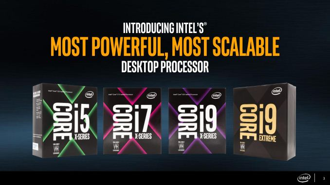 Full details for Intel's Core i9 processor lineup