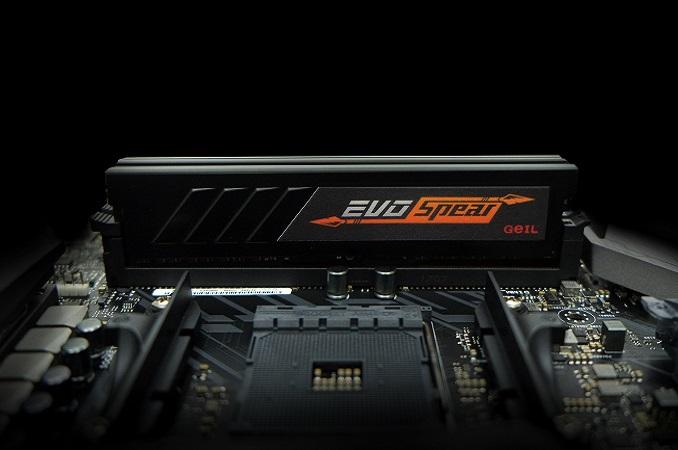 Geil Announces EVO Spear Series DRAM: Up to DDR4-3466