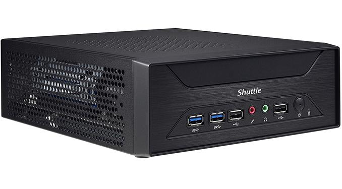 Shuttle Squeezes Desktop Graphics Card into a 3-Liter XH110G