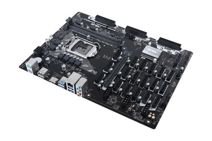 ASUS Announces B250 Expert Mining Motherboard: 19 Expansions Slots