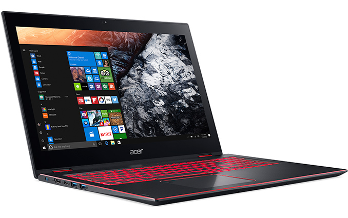 Acer Announces Nitro 5 Spin With Intel 8th Generation Processors