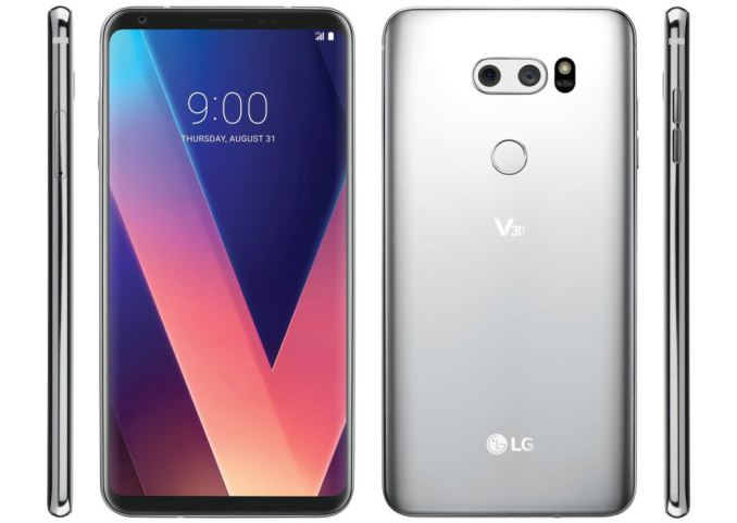 Hands on with the LG V30/V30+: 6-inch OLED 2880x1440