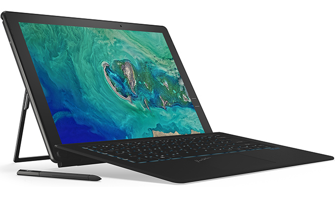 Acer Announces Switch 7 Black Edition 2-in-1: Core i7, GeForce MX150