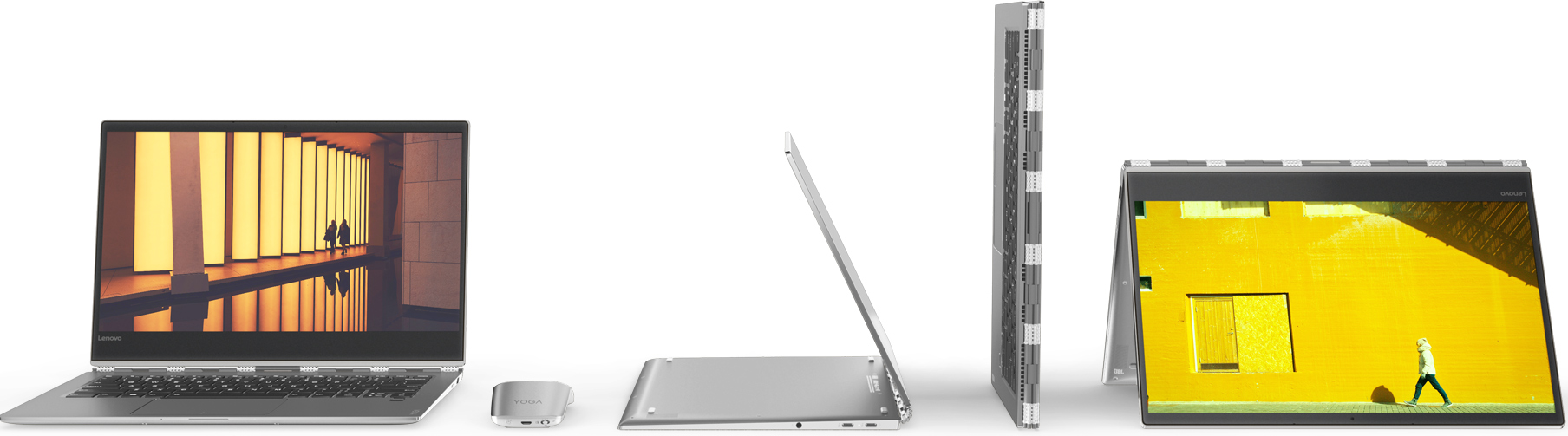 "Lenovo Launches Yoga 920 Convertible: 13 9"" 4K LCD, 8th Gen"
