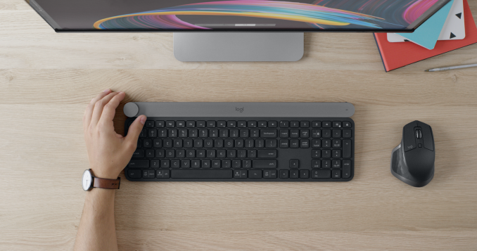 650e296bf1d Logitech Announces The CRAFT Keyboard With Creative Dial Integration