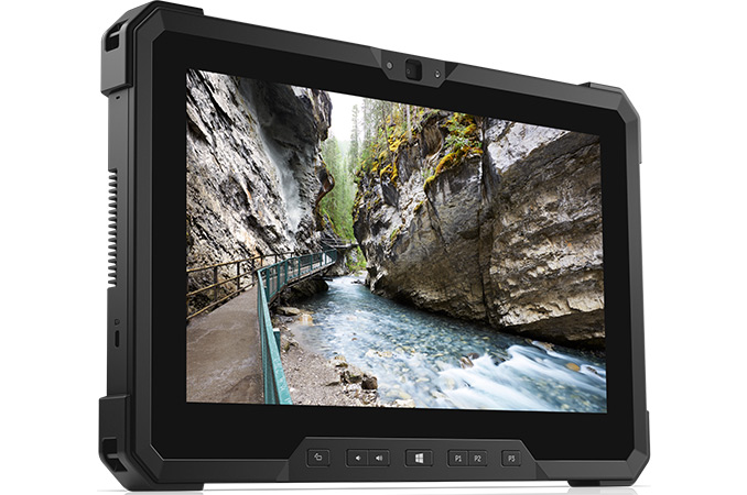 Dell Laude 12 Updated Rugged Tablet Gets Faster Cpu Fhd Lcd Lower Weight Usb C
