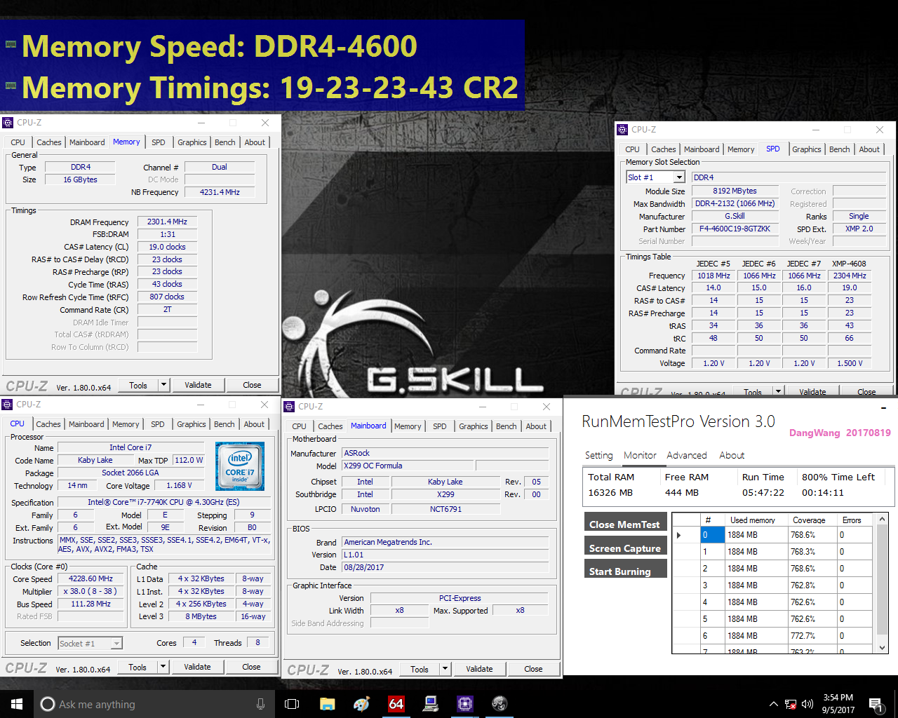 G Skill Ups the Ante on Memory Speed and Voltage: 16 GB DDR4