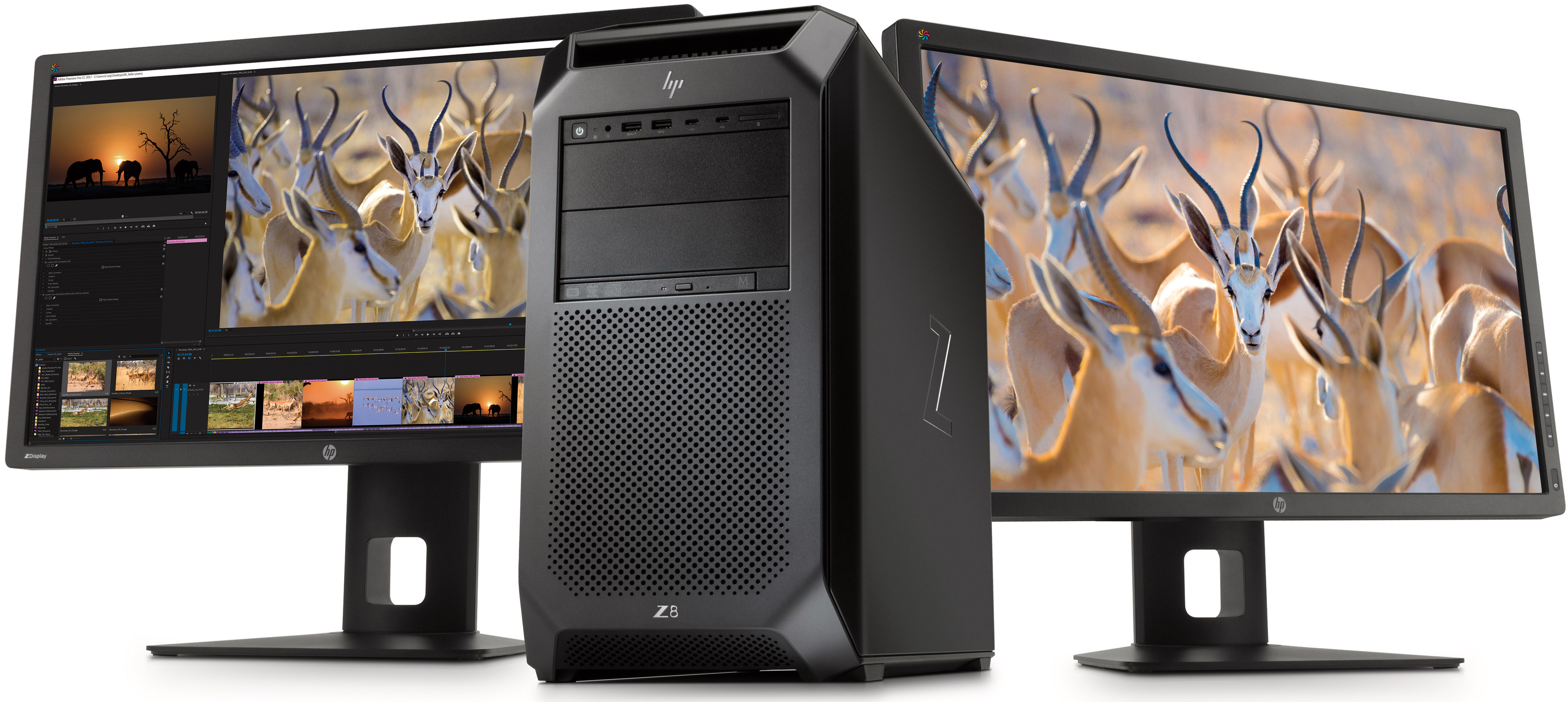 HP Updates Z8 Workstations: Up to 56 Cores, 3 TB RAM, 9 PCIe Slots