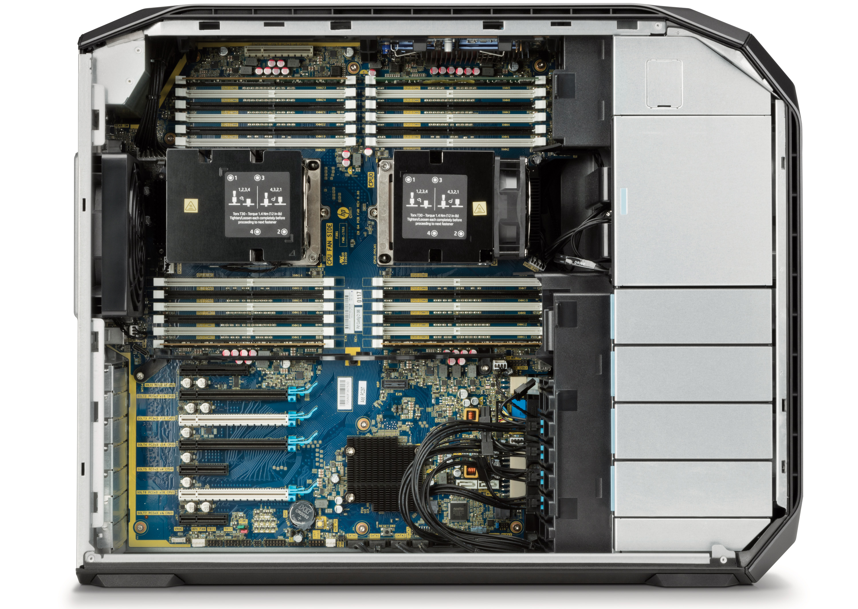 HP Updates Z8 Workstations: Up to 56 Cores, 3 TB RAM, 9 PCIe