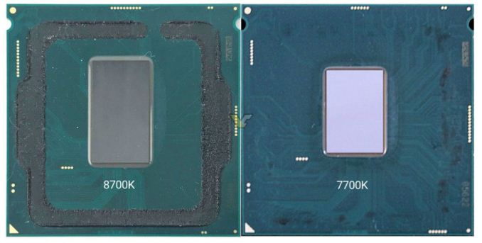 I7 8700 Coffee Lake Thermal Compound Application