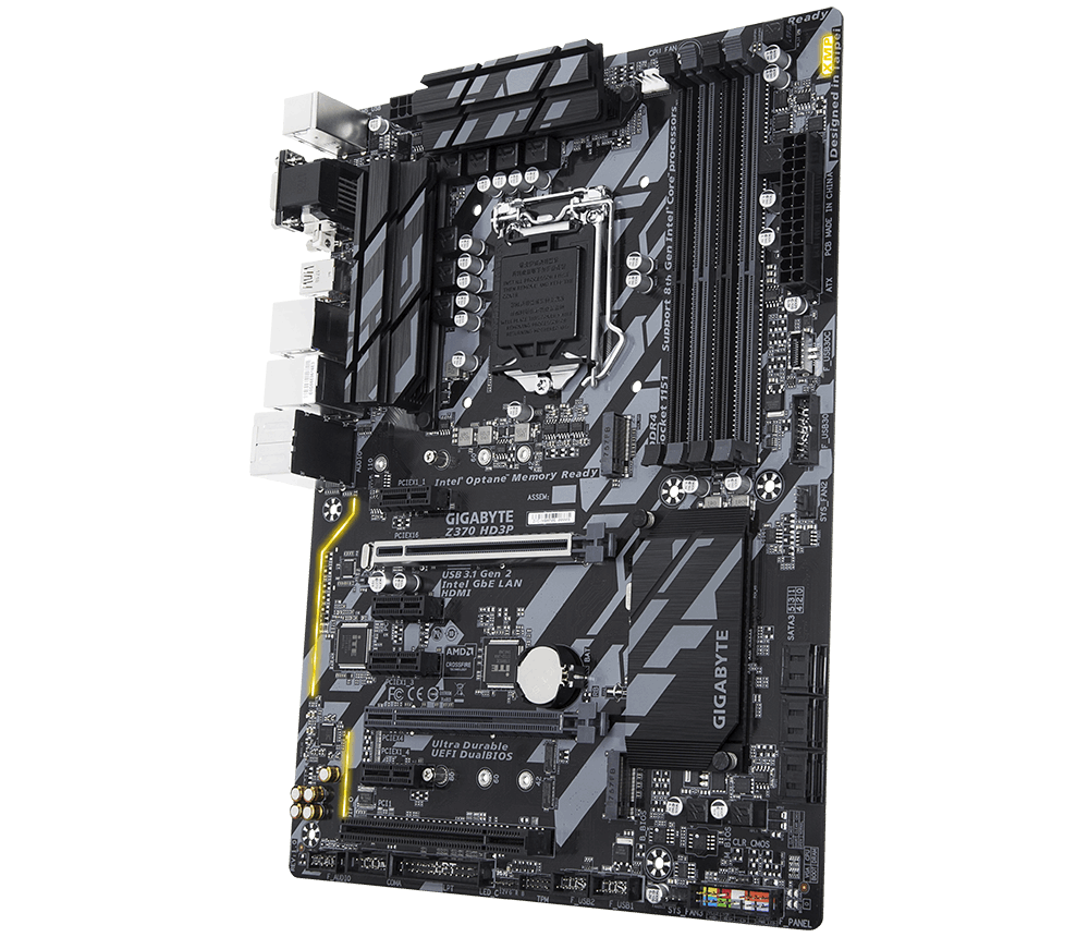 GIGABYTE Z370 HD3P - Analyzing Z370 for Intel's 8th