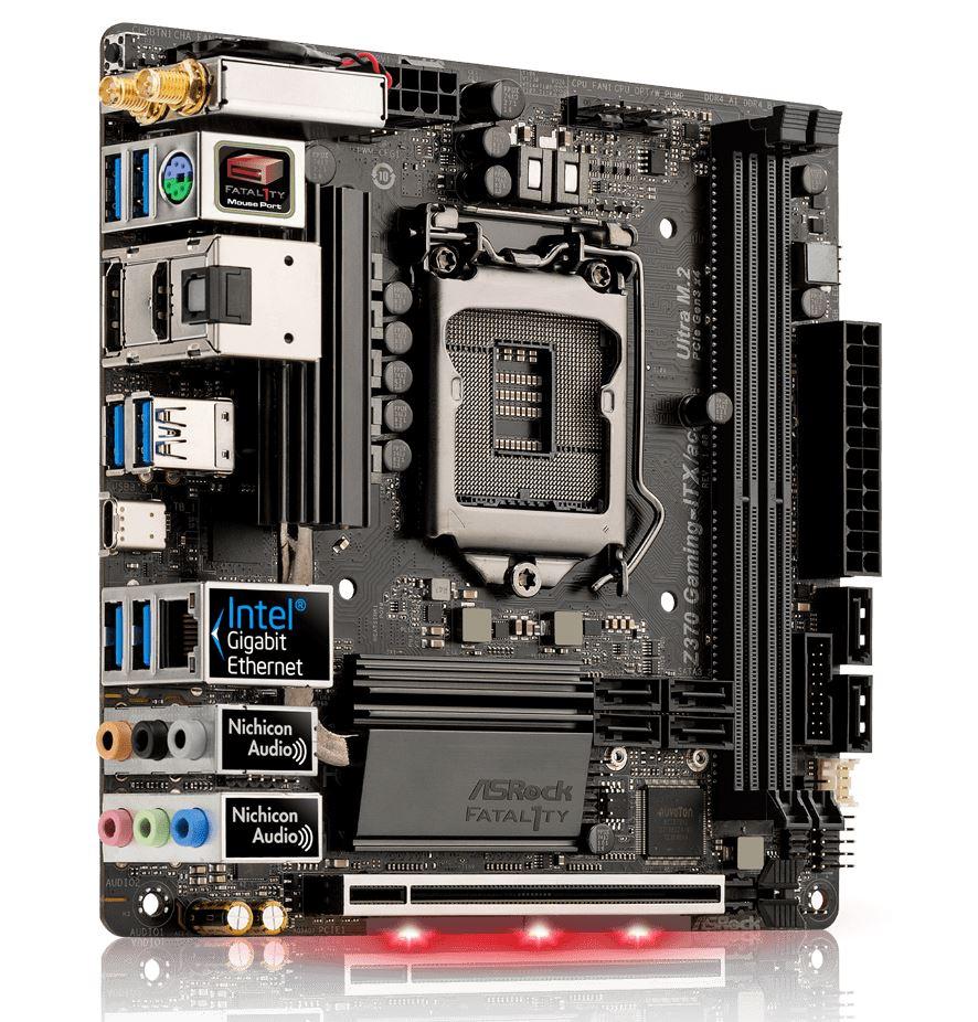 ASRock Z370M-ITX/ac and Z370 Gaming-ITX/ac - Analyzing Z370