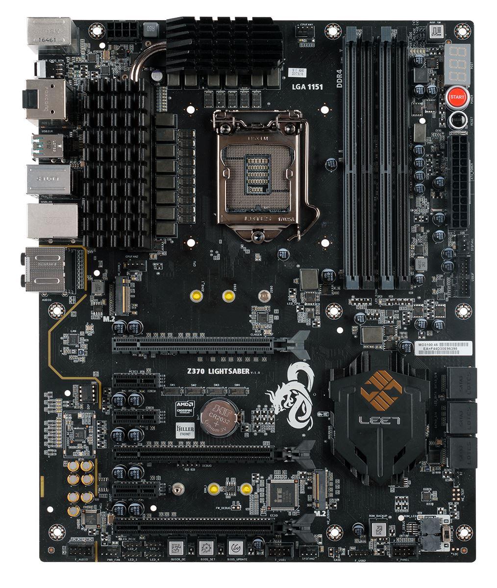 ECS Z370 Lightsaber - Analyzing Z370 for Intel's 8th Generation