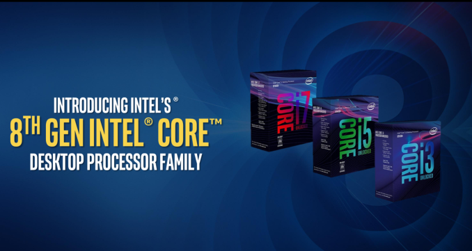 Intel's eighth-generation desktop processors land on October 5