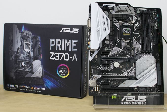 asus prime z370 a analyzing z370 for intel 39 s 8th generation coffee lake a quick look at 50. Black Bedroom Furniture Sets. Home Design Ideas