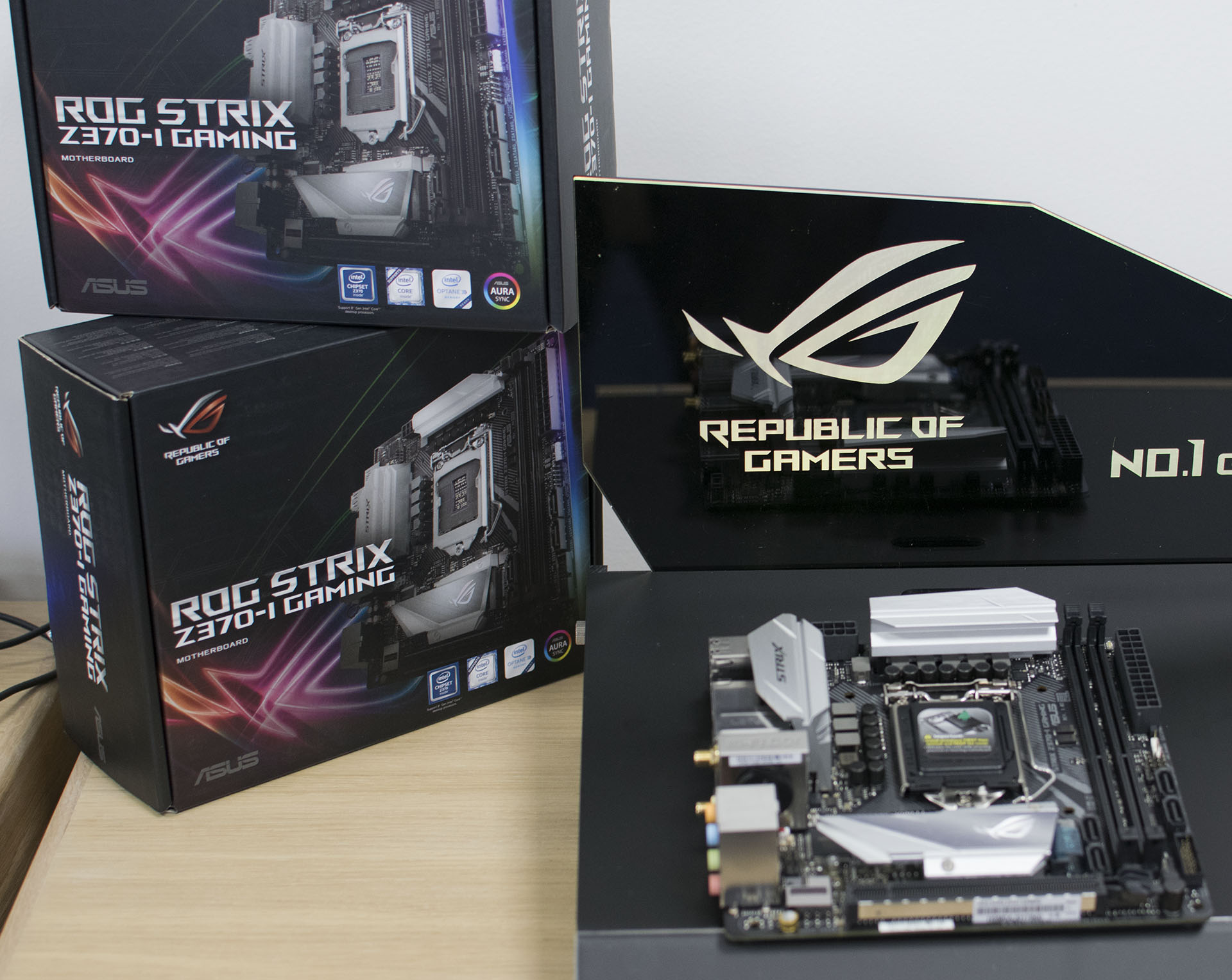 ASUS ROG STRIX Z370-I Gaming - Analyzing Z370 for Intel's