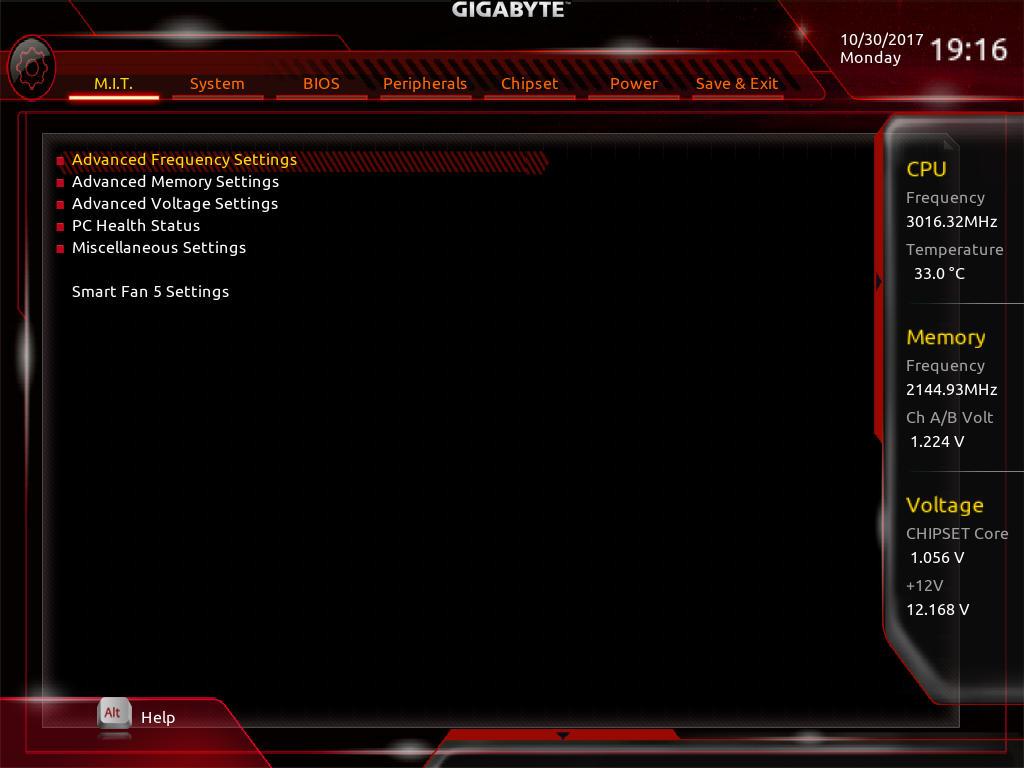 BIOS And Software - The GIGABYTE Aorus AX370-Gaming 5 Review