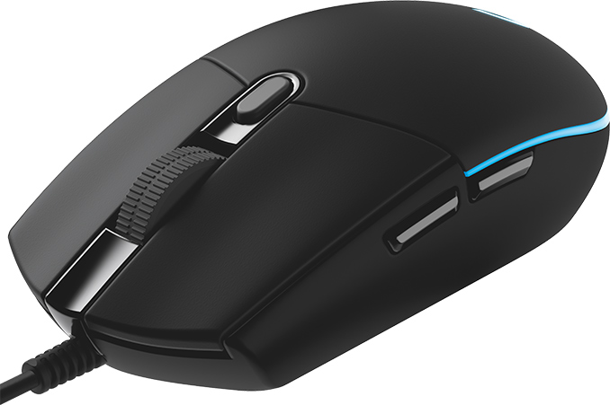 Logitech Boosts Precision of G203 Prodigy Mouse to 8000 DPI via