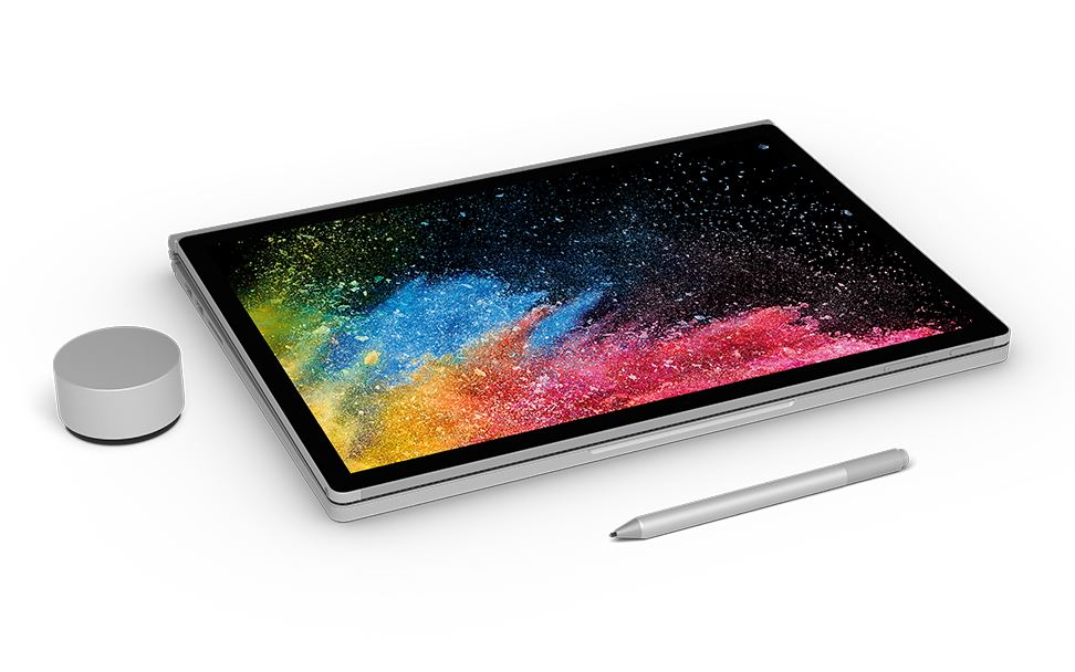 Microsoft unveils Surface Book 2, its second bite at Apple