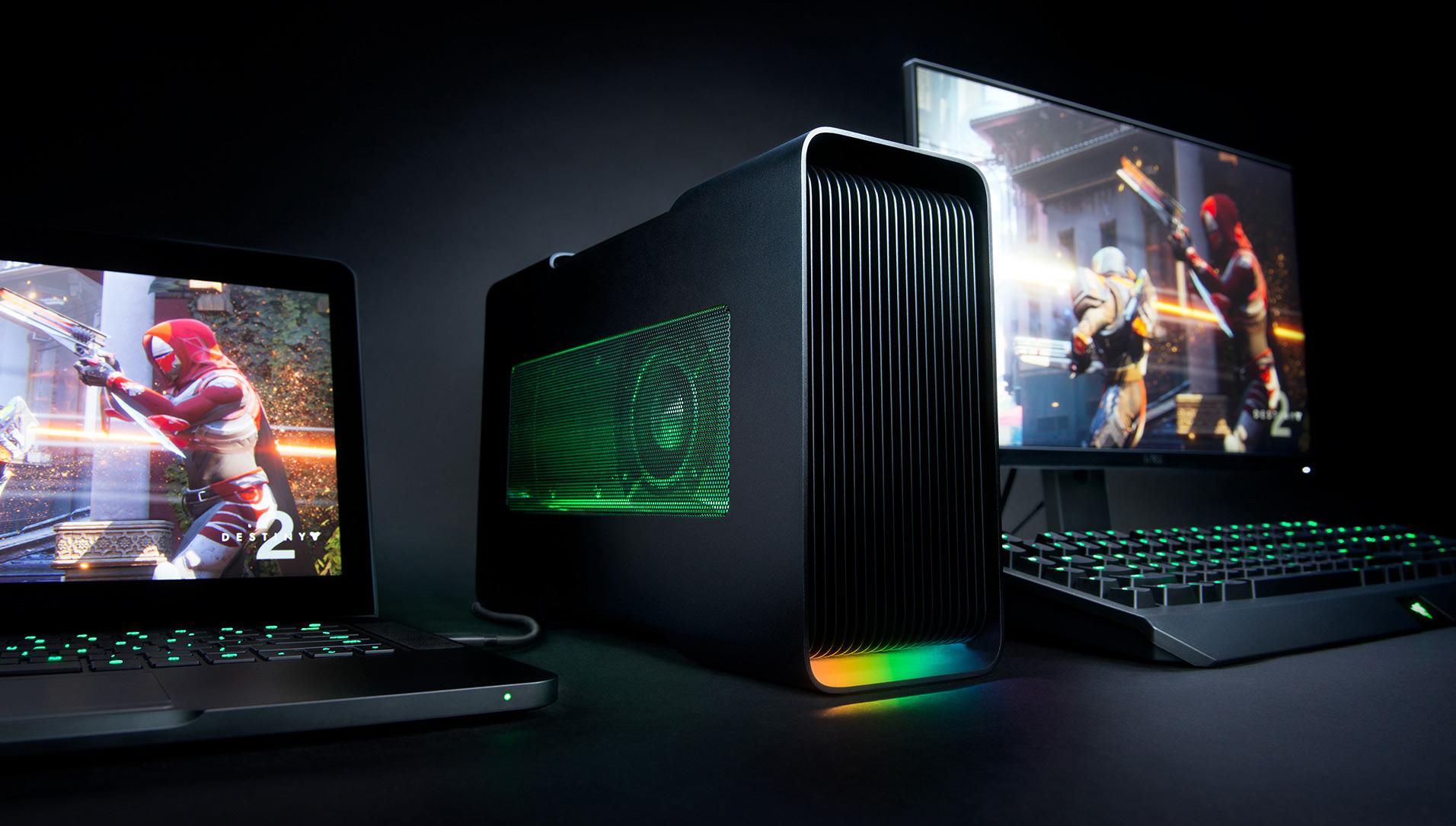 Razer Launches Core v2 TB3 eGFX Enclosure: Dual TB3 Controllers