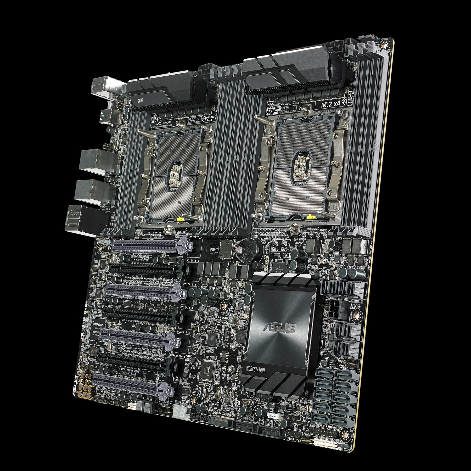 Dual Xeon Scalable Overclocking: ASUS WS C621E 'Sage' Workstation