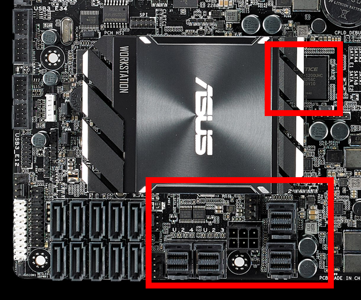 Dual Xeon Scalable Overclocking: ASUS WS C621E 'Sage