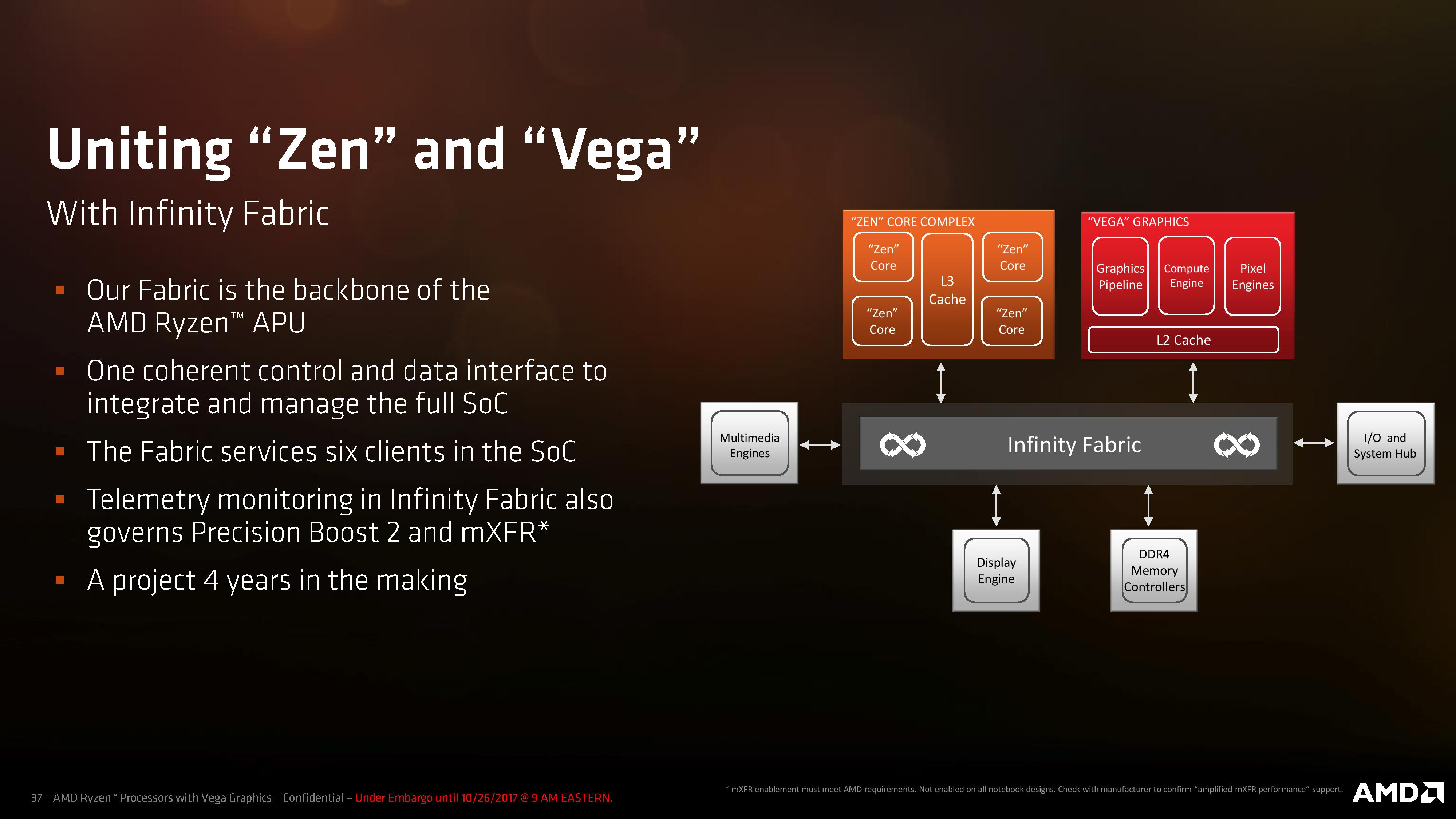 Ryzen Mobile Is Launched Amd Apus For Laptops With Vega And