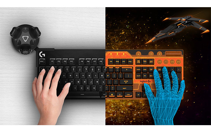 69223916ada Logitech and HTC Team Up to Integrate Physical Keyboards Into VR  Environments