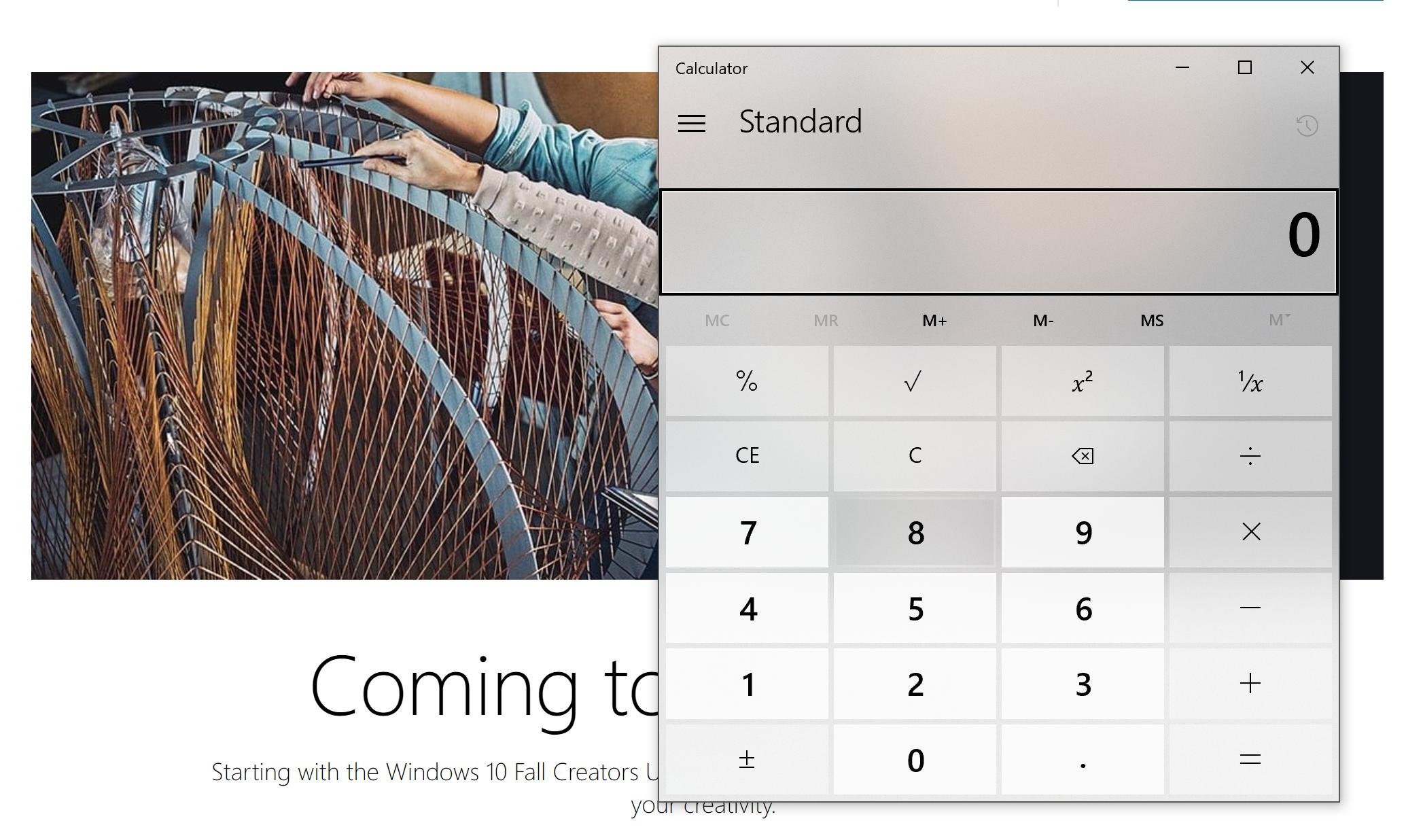 Fluent Design The Windows 10 Fall Creators Update Feature Focus