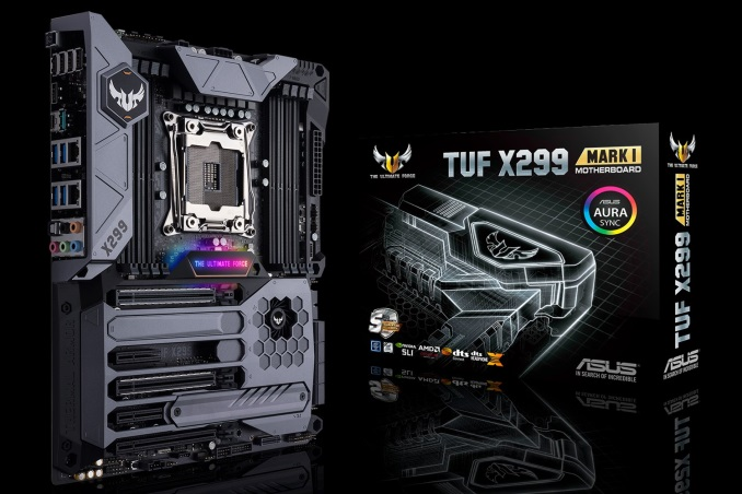 The ASUS TUF X299 Mark I Motherboard Review: TUF Refined