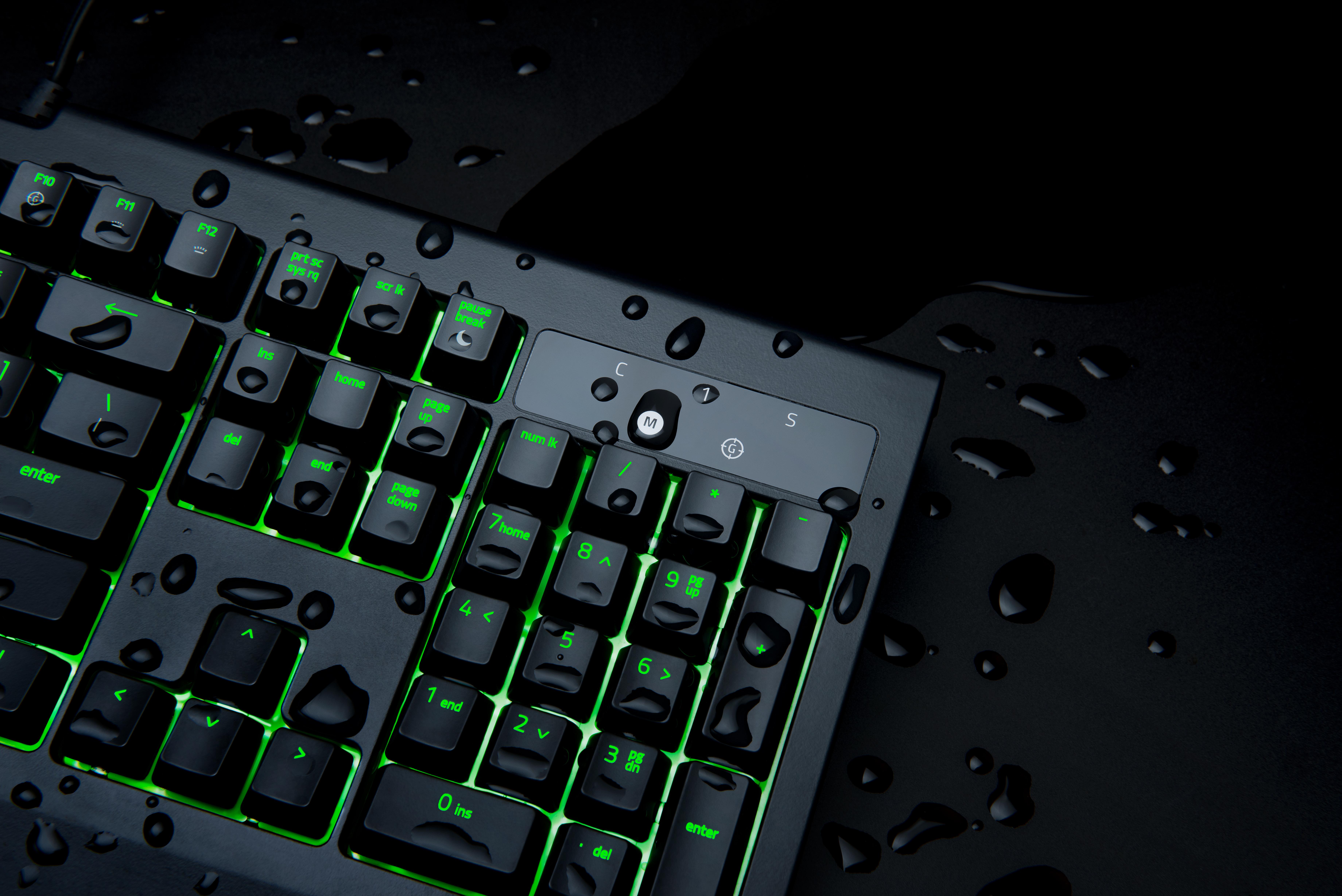Razer Announces Blackwidow Ultimate Keyboard Ip54 Dust