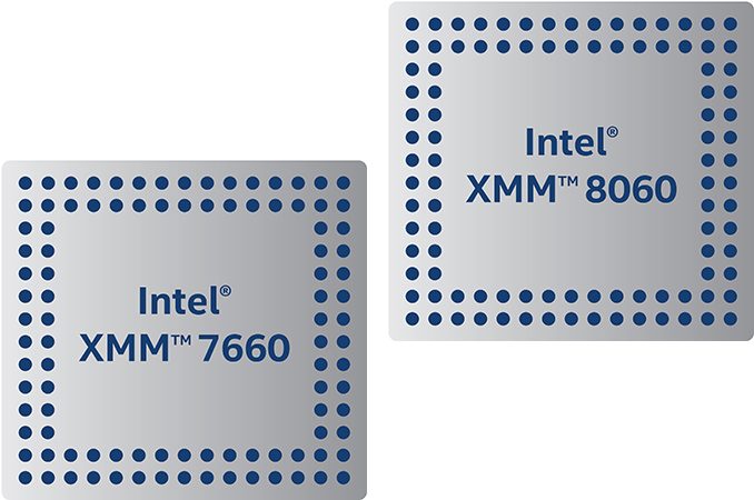 Intel Announces XMM 8060 5G & XMM 7660 Category 19 LTE Modems, Both