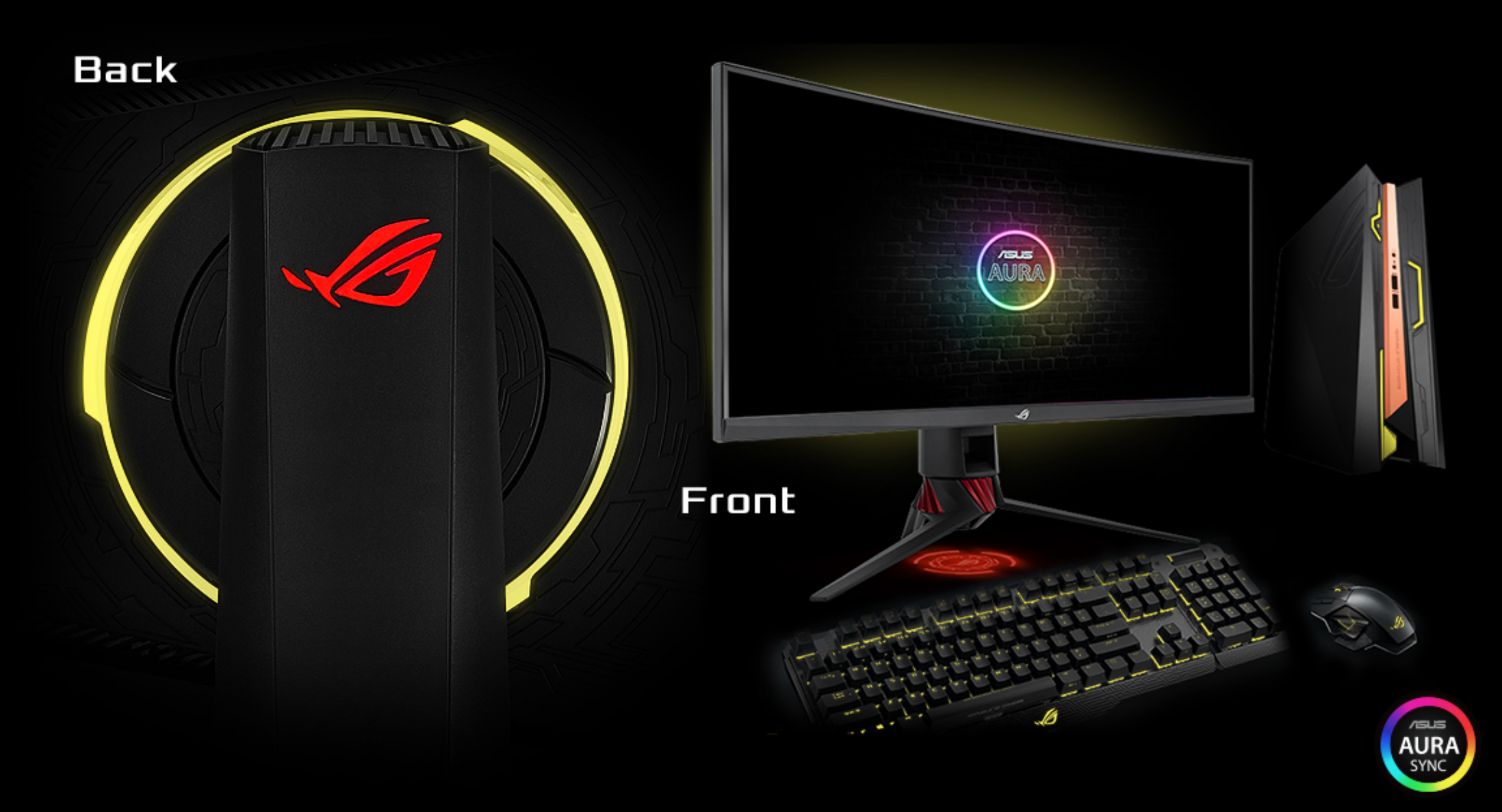 ASUS Announces ROG Strix XG32VQ and ROG Strix XG35VQ: Large, Curved
