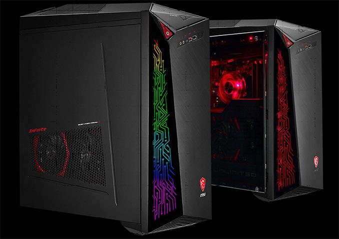 MSI Infinite X Desktop US Launch: Core i7-8700K, GTX 1070 & More