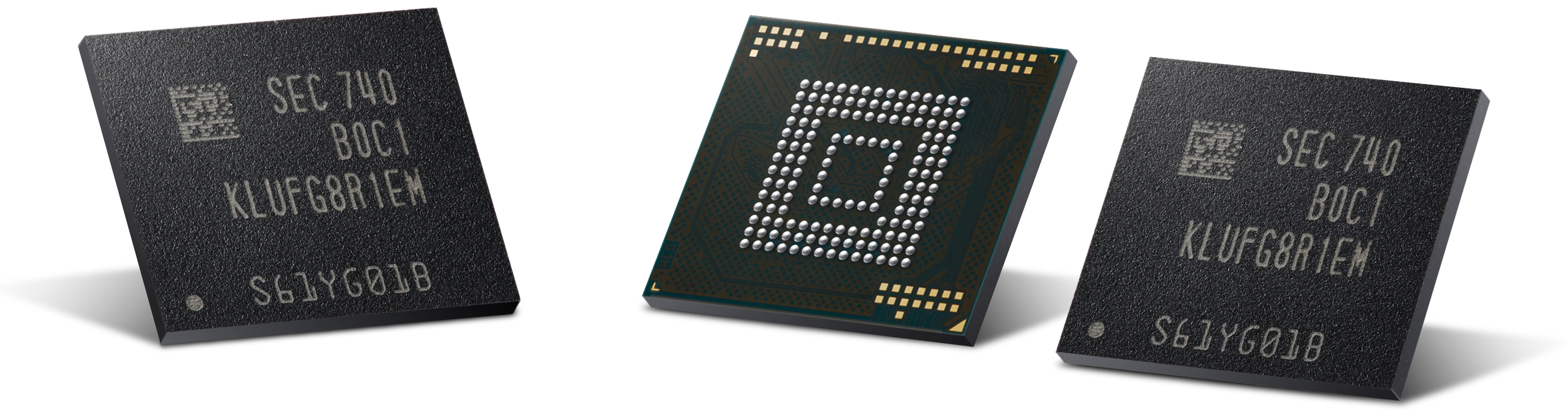 Samsung Starts Production of 512 GB UFS NAND Flash Memory