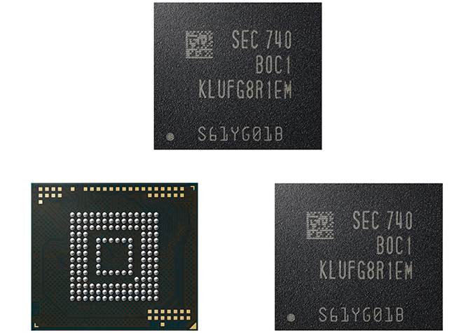 Samsung to Mass Produce World's First 512GB eUFS