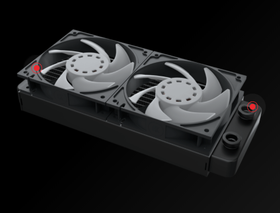 rad_575px EKWB Launches EK Fluid Gaming A240R Kit: Whole-Deal with Vega GPU Cooling & Supremacy AX CPU Block