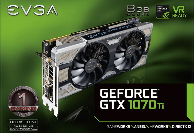 EVGA Releases GeForce GTX 1070 Ti FTW Ultra Silent: 3 Slot