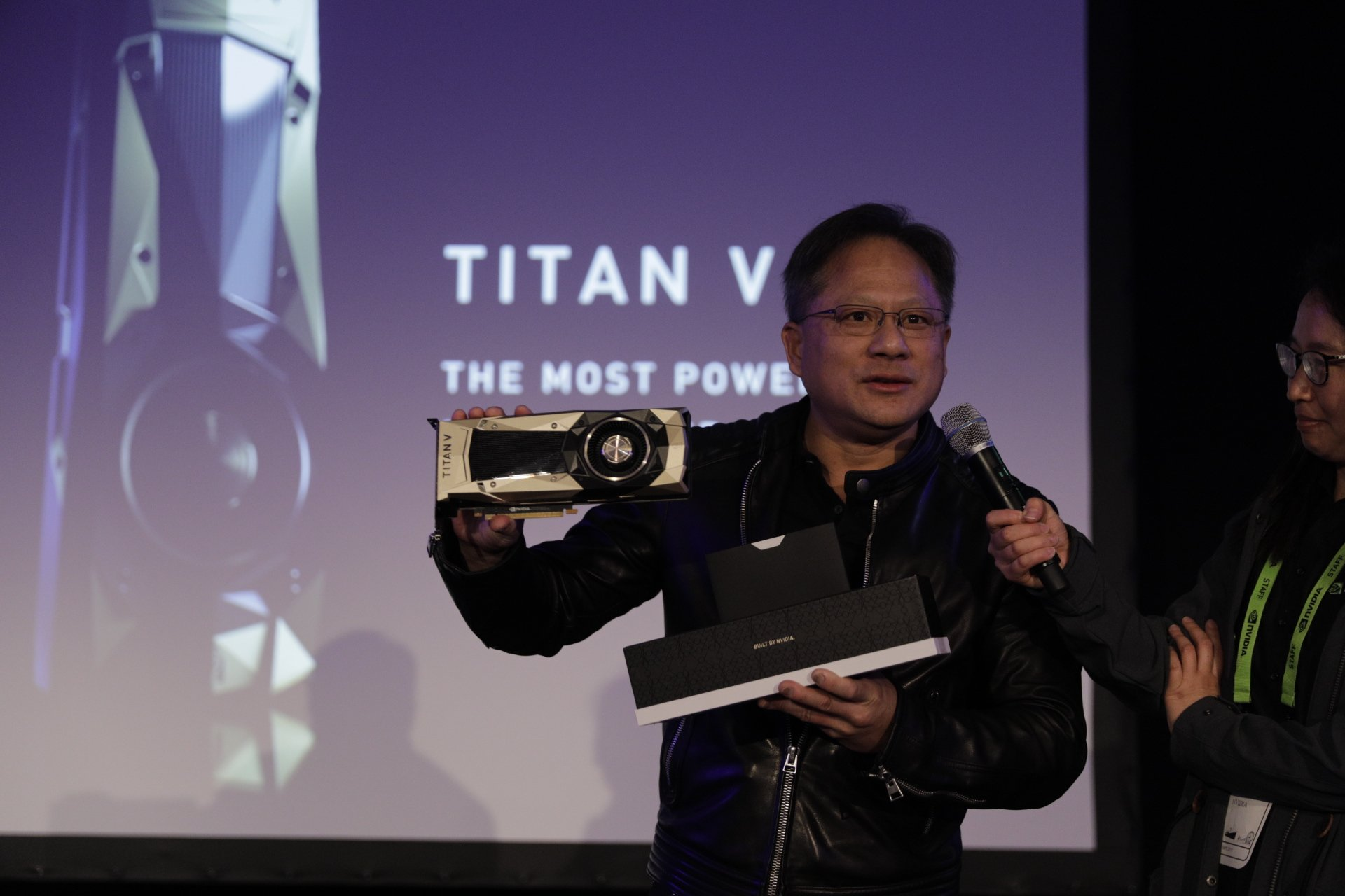 Nvidia announces $2999 Titan V, 'the most powerful PC GPU ever created'
