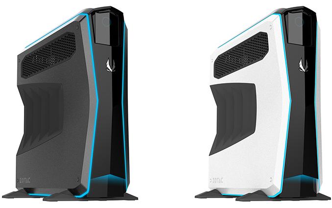 ZOTAC Launches MEK1 Upgradeable PCs: Up to Core i7-7700