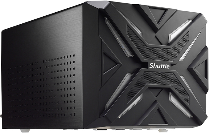 Shuttle Unveils SZ270R9 SFF PC with 'Turbo' Button: Core i7, Long GPU, 6 Drives & More