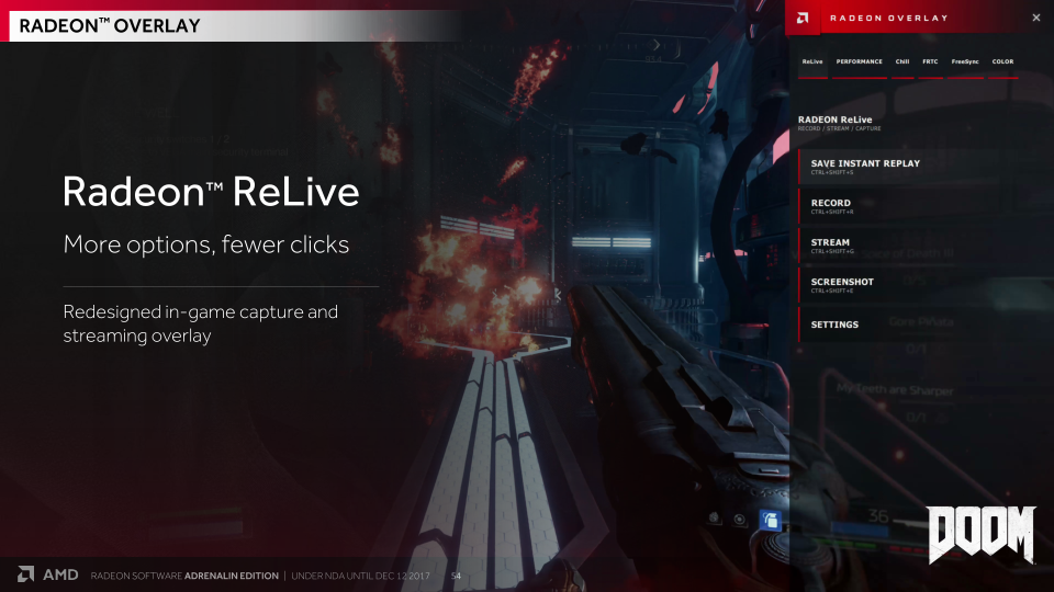 Meet Radeon Overlay - AMD Releases Radeon Software Adrenalin