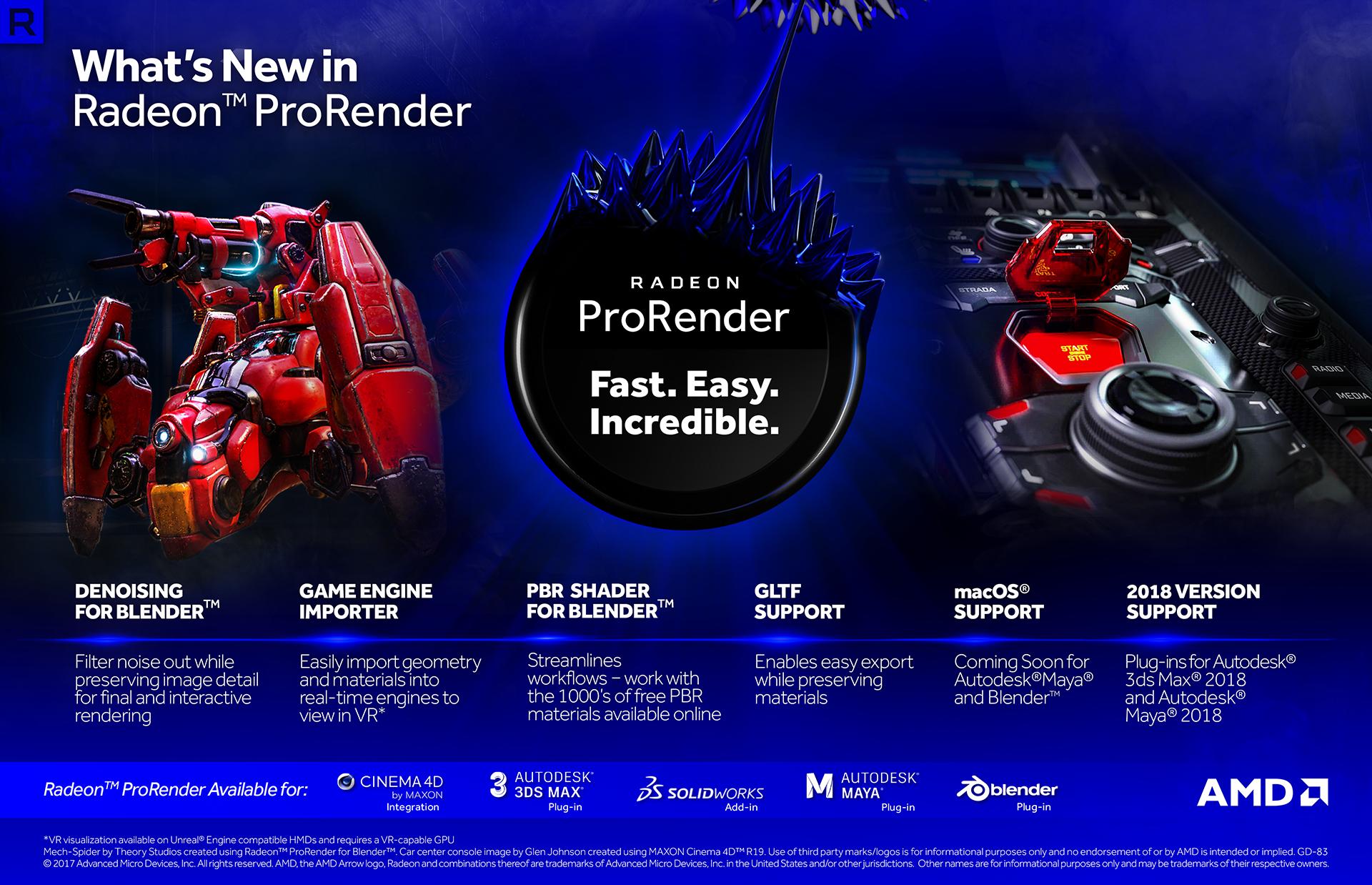 AMD Releases Radeon Pro Software Adrenalin Edition 17 12 1