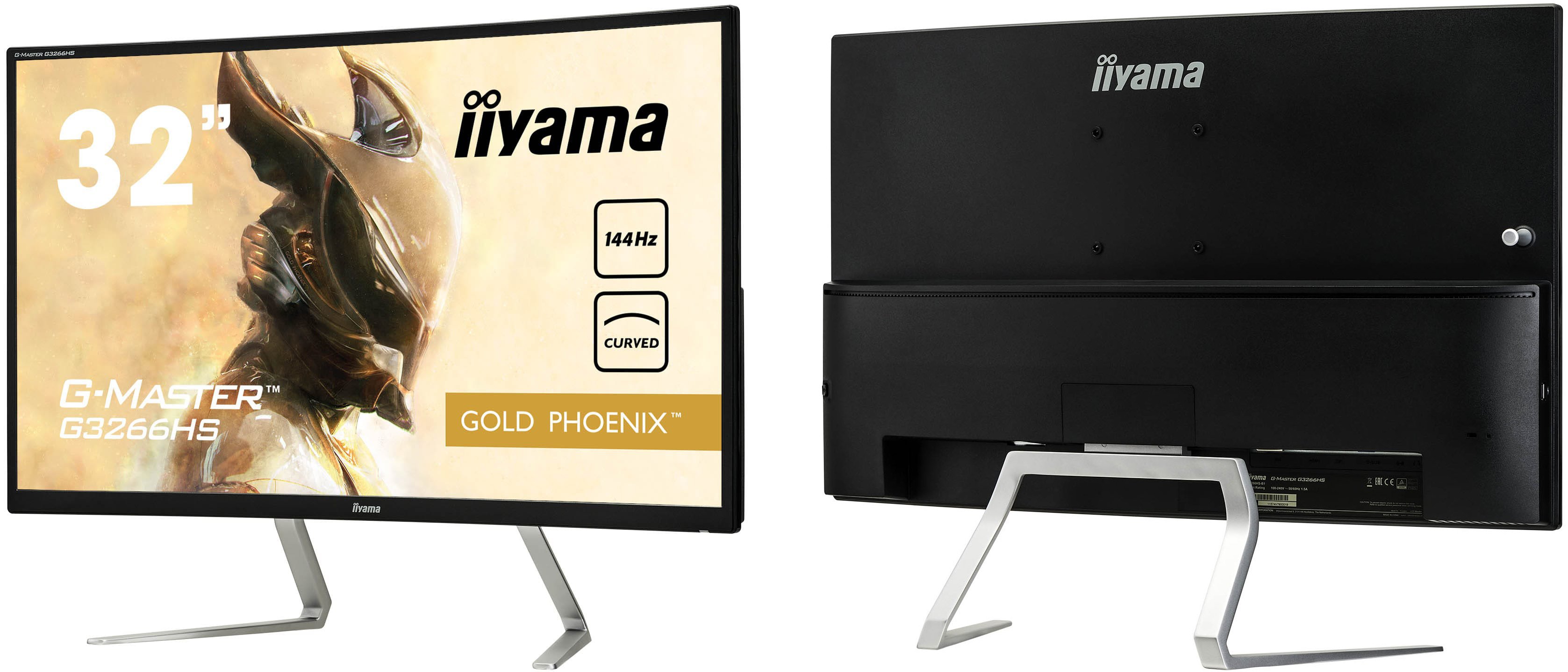 Iiyama Unveils Its First Curved Gaming Display: 31 5-inch