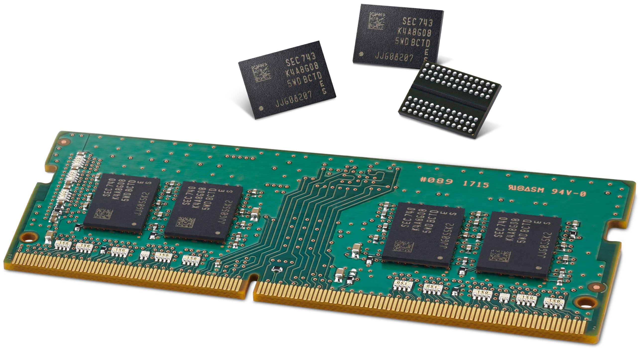 Samsung mass-produces 2nd generation 10-nano level DRAM