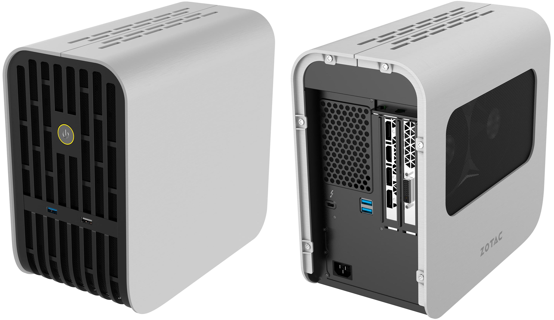 ZOTAC Unveils AMP Box and AMP Box Mini eGFX TB3 Chassis